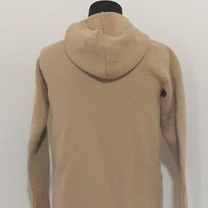 Lauren Ralph Lauren Jackets & Coats - Lauren Ralph Lauren Beige Duffel Hoodie Sweater